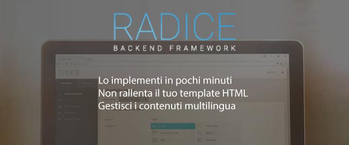 Radice, la svolta per i web designer