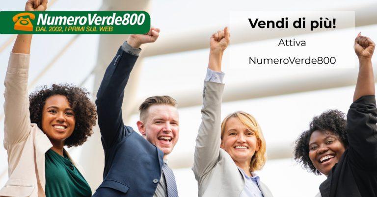 Il miglior numero verde 800 per la tua azienda
